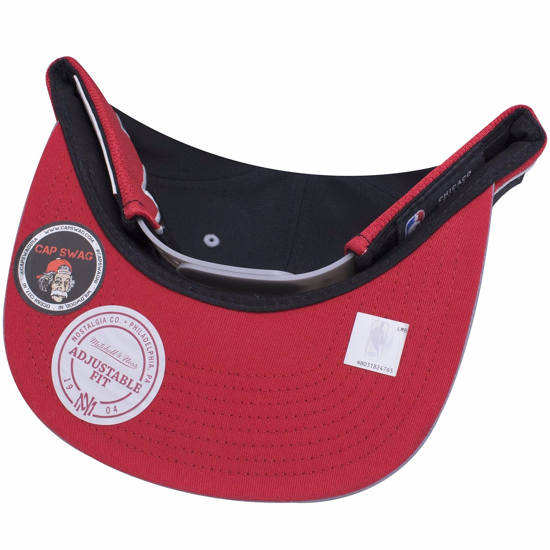 c52a8a4cd94 ... sharktooth inspired sneaker matching snapback  the under brim of the chicago  bulls retro air jordan 5 sneaker matching snapback hat is