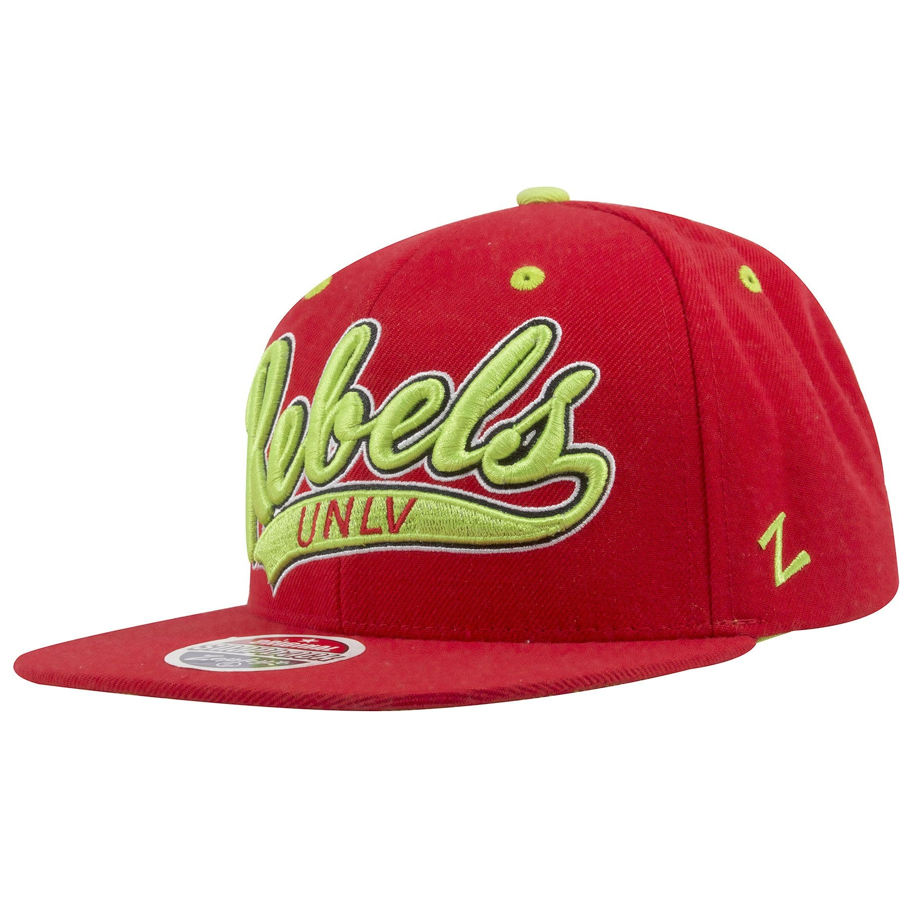 2f4d495b08820 ... on the left side of the university of las vegas runnin rebels snapback  hat is the ...