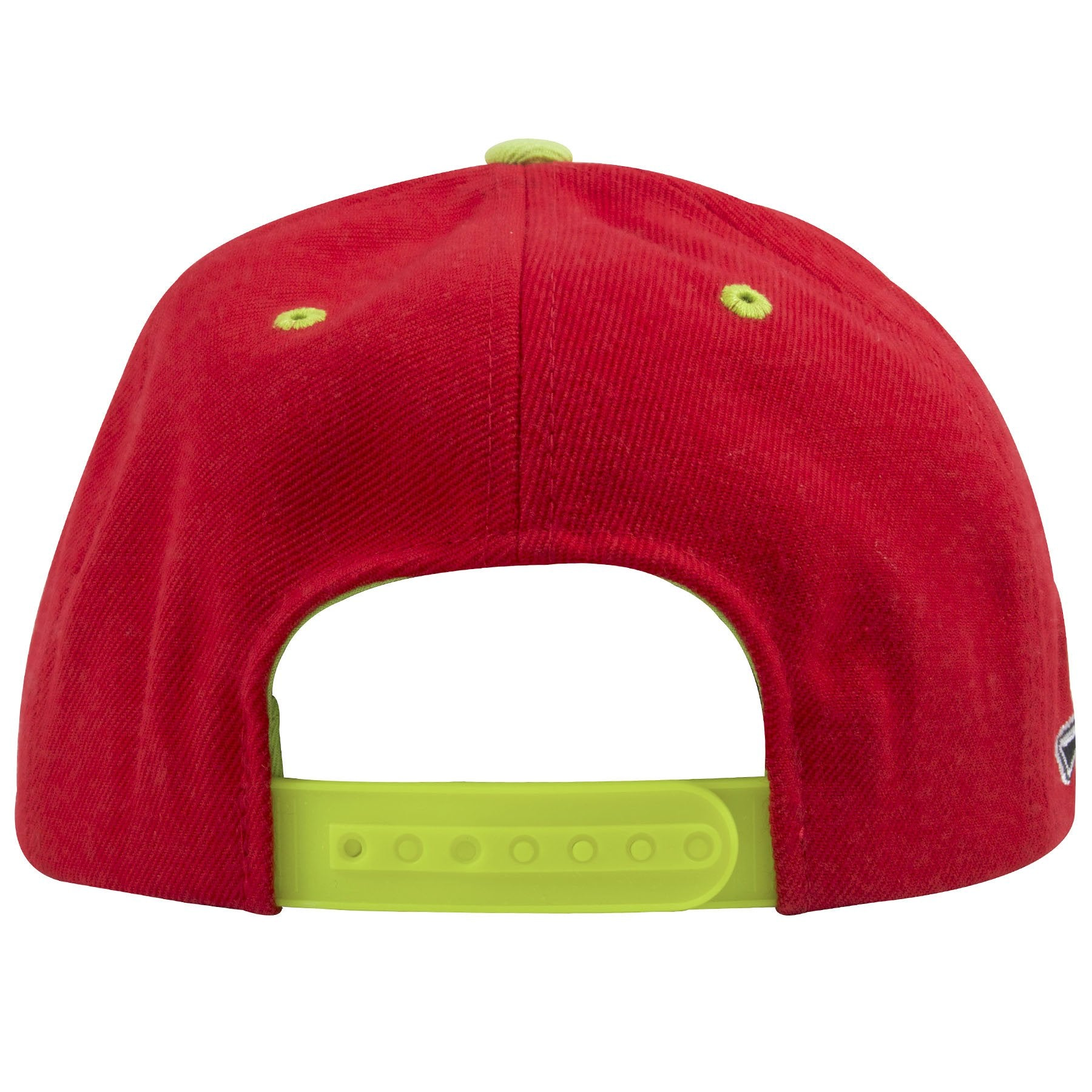 ... on the back of the university of las vegas runnin rebels snapback hat  is a neon ... 86f48d844870