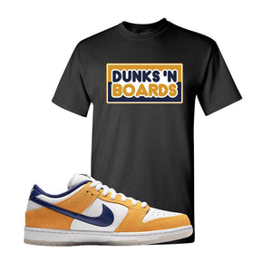SB Dunk Low Laser Orange T Shirt | Black, Dunks N Boards