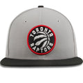 Toronto Raptors Gray / Black Two Tone 9Fifty Adjustable Snapback Hat