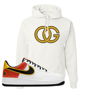 Air Force 1 Low Roswell Rayguns Hoodie | OG, White