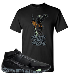 Nike KD 13 Black And Dark Grey T-Shirt | Dont Hate The Playa, Black