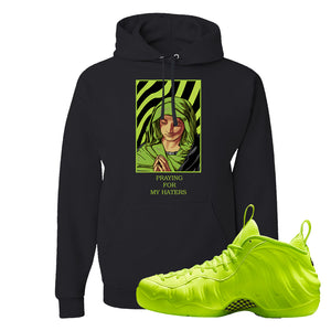 Air Foamposite Pro Volt Hoodie | God Told Me, Black