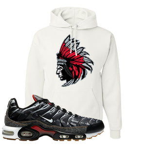 Air Max Plus Remix Pack Hoodie | Indian Chief, White