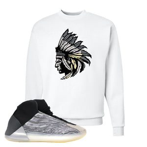 Yeezy Quantum Crewneck | White, Indian Chief