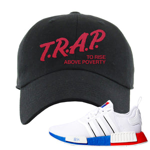 NMD R1 Seoul Dad Hat | Black, Trap To Rise Above Poverty