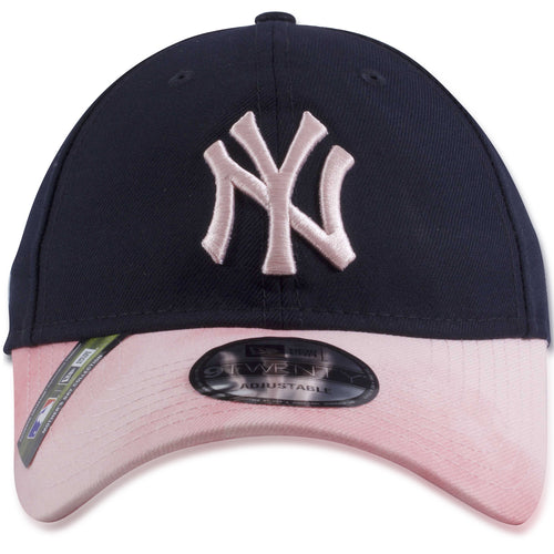 New York Yankees 2019 Mother's Day Navy Blue on Pink 9Twenty Dad Hat