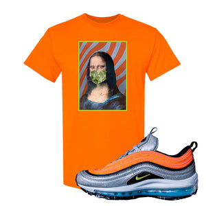 Air Max Plus Sky Nike T Shirt | Safety Orange, Mona Lisa Mask