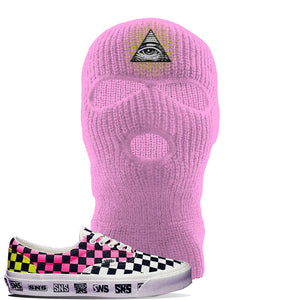 Vans Era Venice Beach Pack Ski Mask | Light Pink, All Seeing Eye