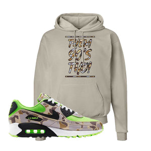 Air Max 90 Duck Camo Ghost Green Hoodie | Sand, Them 90's Tho