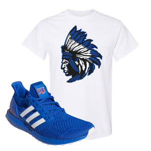 Ultra Boost 1.0 Kansas T Shirt | Indian Chief, White