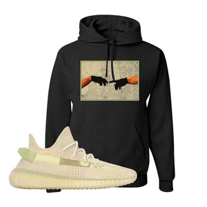 Yeezy Boost 350 V2 Flax Hoodie | Black, Creation