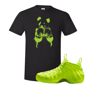 Air Foamposite Pro Volt T Shirt | Boxing Panda, Black
