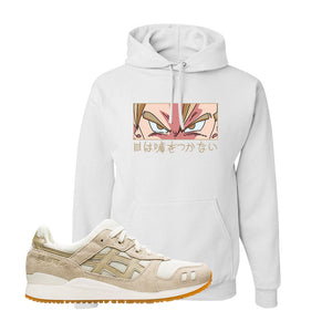GEL-Lyte III 'Monozukuri Pack' Hoodie | White, Eyes Don't Lie