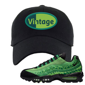 Air Max 95 Naija Dad Hat | Vintage Oval, Black