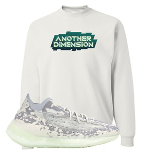 Yeezy 380 Alien Crewneck Sweatshirt | White, Another Dimension