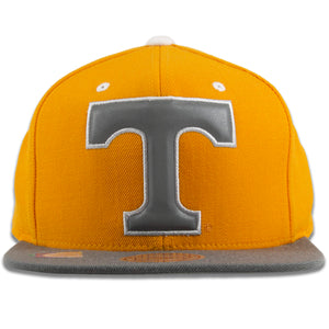 University of Tennessee Volunteers Orange on Gray Reflective Snapback Hat