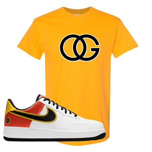 Air Force 1 Low Roswell Rayguns T Shirt | OG, Gold