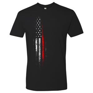 Standard Issue Red Lives Matter Distressed Black Grunt Life T-Shirt