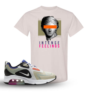Air Max 200 WMNS Fossil Sneaker Natural T Shirt | Tees to match Nike Air Max 200 WMNS Fossil Shoes | Intense Feelings