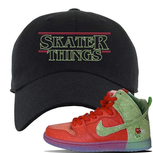 SB Dunk High 'Strawberry Cough' Dad Hat | Black, Skater Things