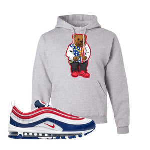 Air Max 97 USA Hoodie | Ash, Sweater Bear