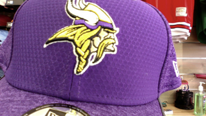 Minnesota Vikings 2017 Training Camp Purple 39Thirty Flexfit Cap