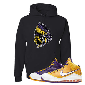 Lebron 7 'Media Day' Hoodie | Black, Indian Chief