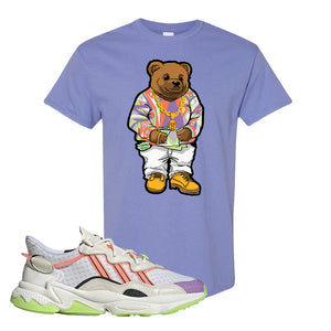 Ozweego Chaos T Shirt | Violet, Sweater Bear