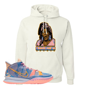 Kyrie 7 Expressions Hoodie | Oh My Goodness, White