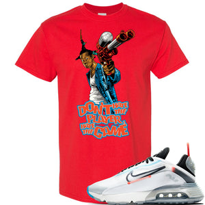 Air Max 2090 Pure Platinum T Shirt | Don't Hate The Player, Red