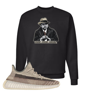 Yeezy 350 v2 Zyon Crewneck | Black, Capone Illustration