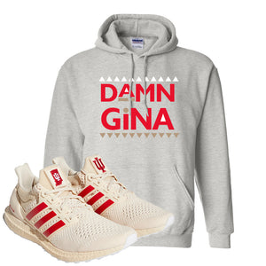 Adidas Ultra Boost 1.0 Indiana Pullover Hoodie | Damn Gina, Ash