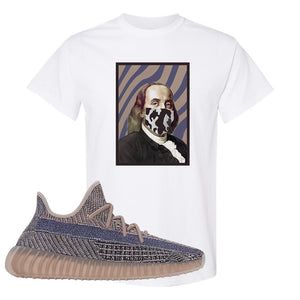 Yeezy Boost 350 V2 Fade T-Shirt | Franklin Mask, White