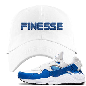 Huarache DNA Series Dad Hat | White, Finesse