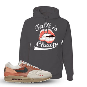 Air Max 1 Amsterdam City Pack Sneaker Charcoal Grey Pullover Hoodie | Hoodie to match Nike Air Max 1 Amsterdam City Pack Shoes | Talk Is Cheap