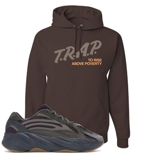Yeezy Boost 700 Geode Sneaker Hook Up Trap Rise Above Brown Hoodie
