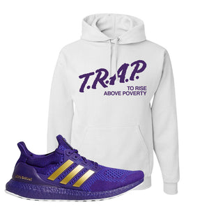 Ultra Boost 1.0 Washington Hoodie | Trap To Rise Above Poverty, White