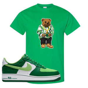 Air Force 1 Low St. Patrick's Day 2021 T Shirt | Sweater Bear, Kelly
