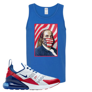 Air Max 270 USA Tank Top | Royal Blue, Franklin Mask