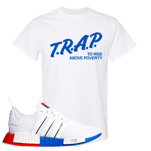 NMD R1 Seoul T Shirt | White, Trap To Rise Above Poverty
