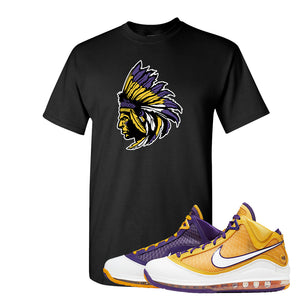 Lebron 7 'Media Day' T Shirt | Black, Indian Chief