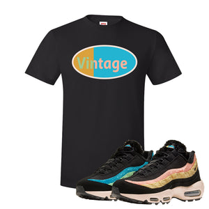 Air Max 95 Sergio Lozano T Shirt | Vintage Oval, Black