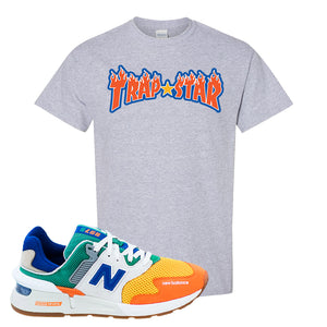 997S Multicolor Sneaker Sports Gray T Shirt | Tees to match New Balance 997S Multicolor Shoes | Trap Star