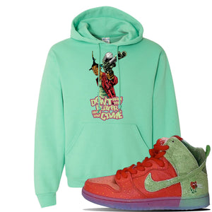 SB Dunk High 'Strawberry Cough' Hoodie | Cool Mint, Dont Hate The Player