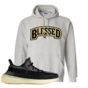 Yeezy Boost 350 v2 Carbon Hoodie | Blessed Arch, Ash