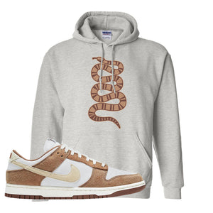 Dunk Low Medium Curry Hoodie | Coiled Snake, Ash