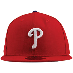Philadelphia Phillies 2008 World Series Patch Scarlet Red 59Fifty Fitted Cap