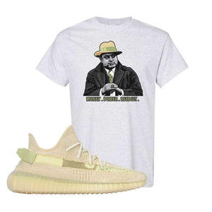 Yeezy Boost 350 V2 Flax T-Shirt | Ash, Capone Illustration